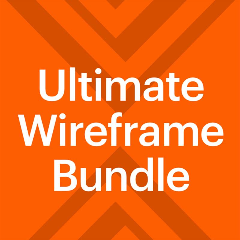 Basement Wireframe Bundle UI Elements