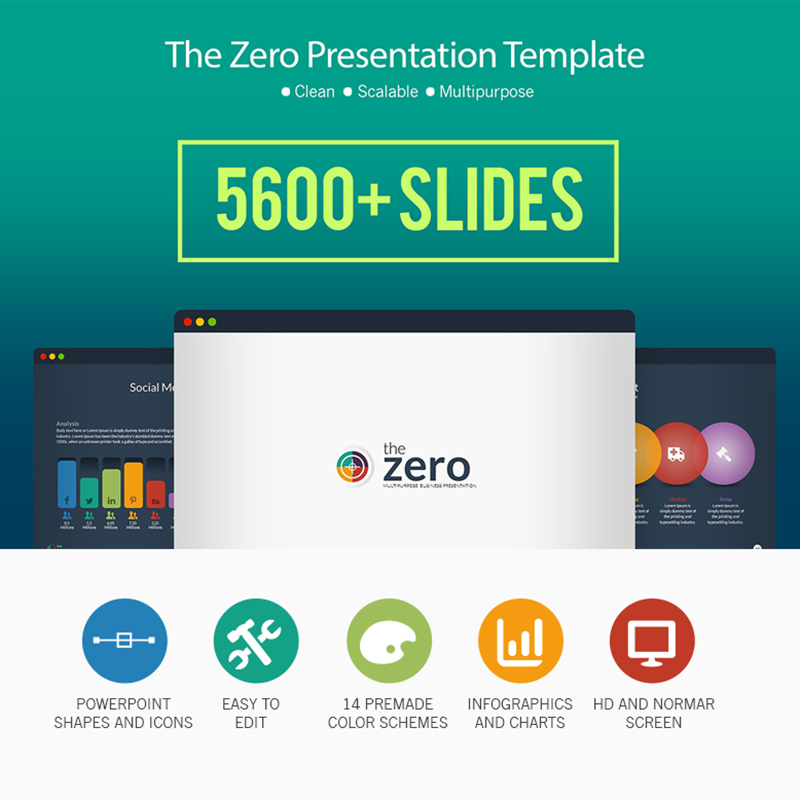 Business Infographic PowerPoint Presentation Template PowerPoint Template