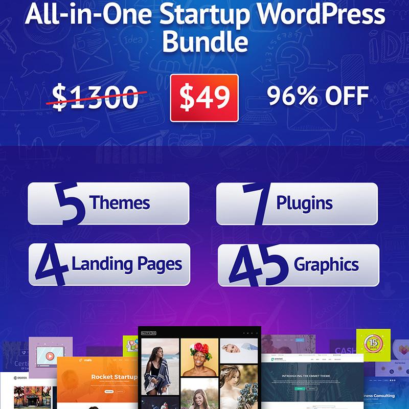 All-in-One Startup WordPress Bundle