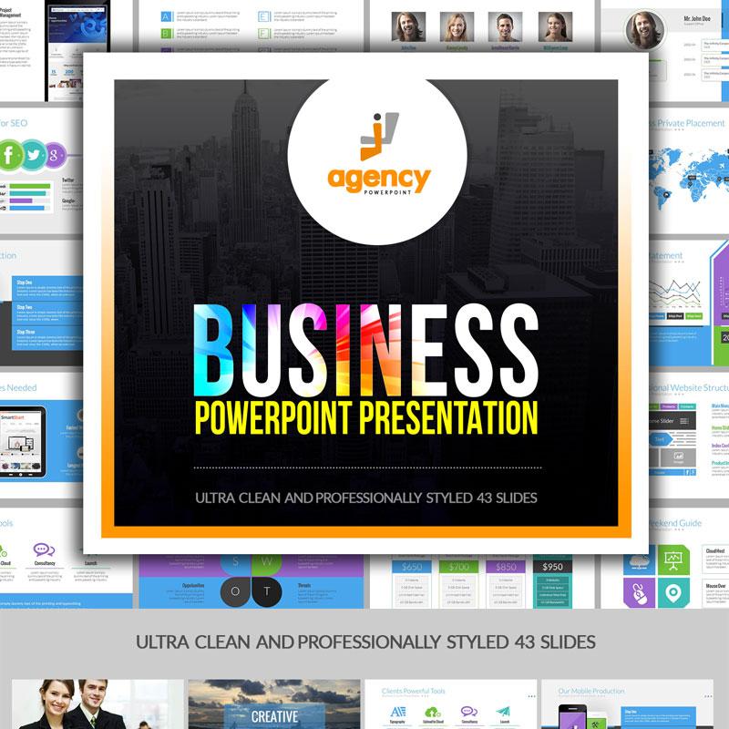 Multipurpose Business Presentation PowerPoint Template