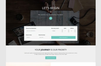 Journey HTML Template