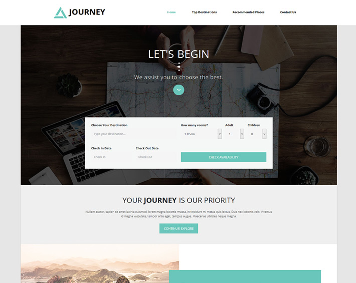 CSS Boostrap Templates for Personal or Company