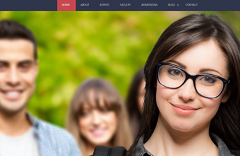 Bootstrap University dream theme