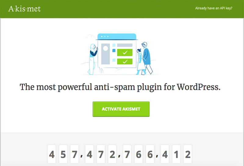 Akismet Antispam WordPress Plugin