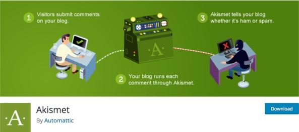 Akismet - WP Antispam plugin
