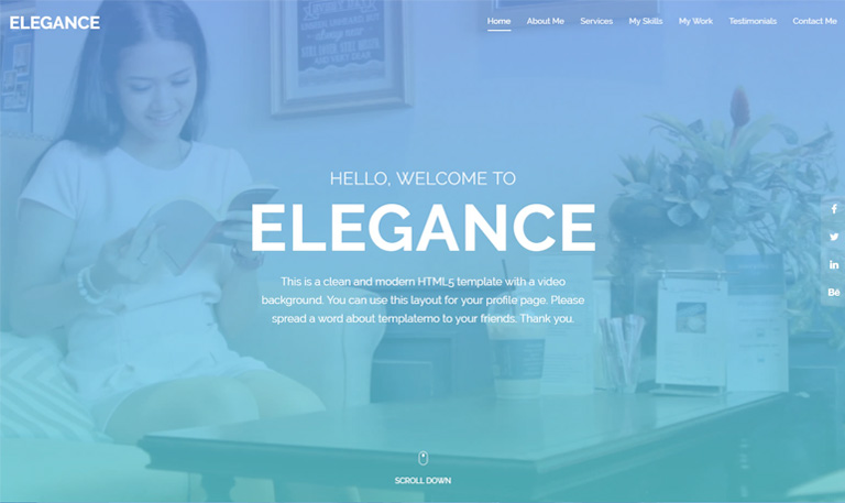 free css template - new elegance theme