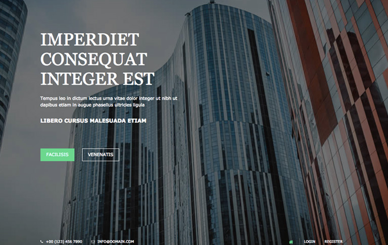 free css template for Personal - Personal/Portfolio - Free CSS Templates -