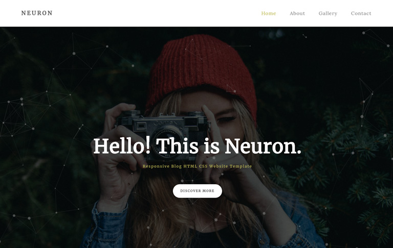 free css blog page