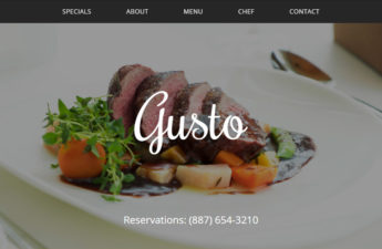 Free Restaurant Website CSS