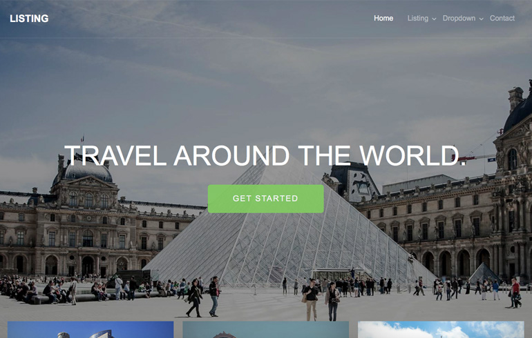 free css Hotel Website template