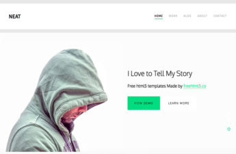 Free Blog CSS template