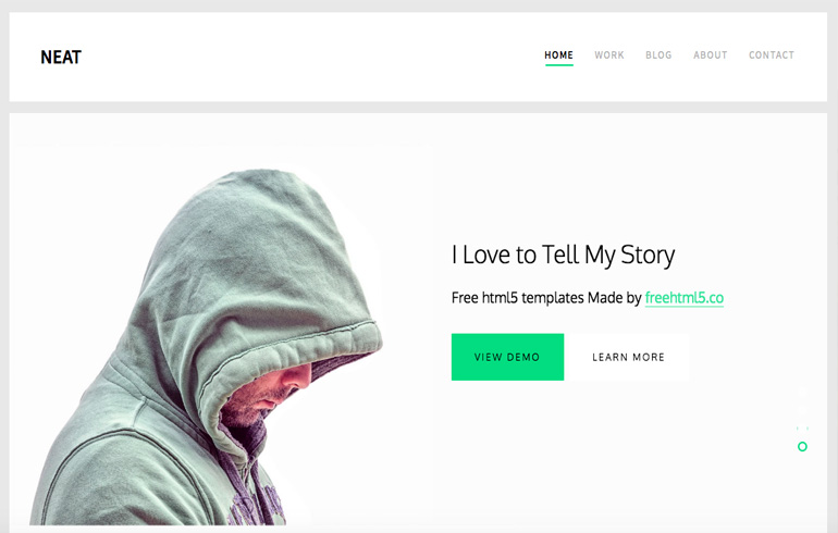 Blog Free CSS Website Templates