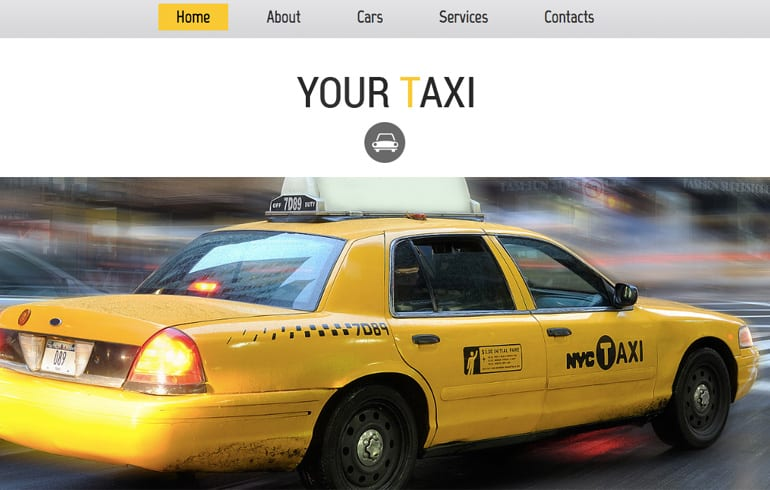 free css tax Website template
