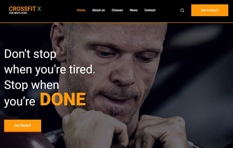 free HTML5 templates for sport events