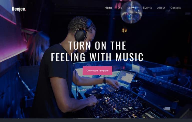 Music CSS Templates