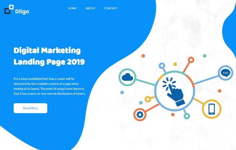 free CSS templates for marketing website