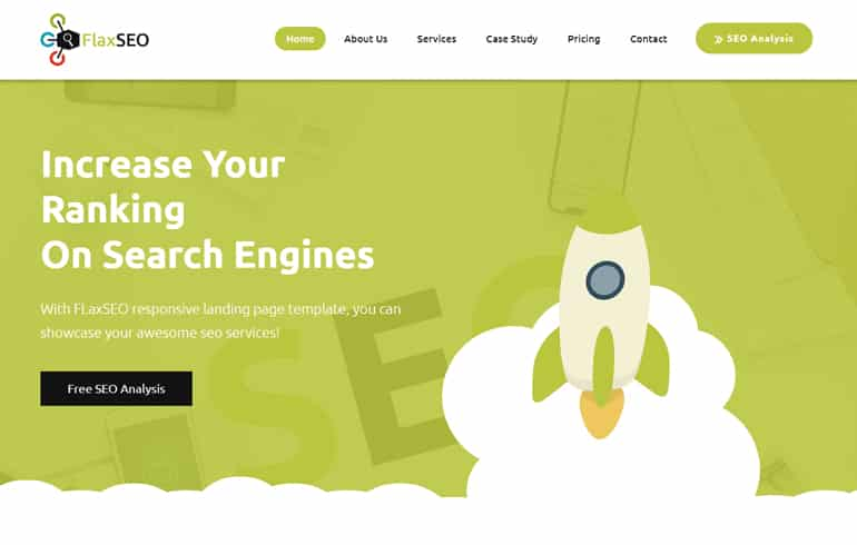 free CSS SEO templates for marketing website