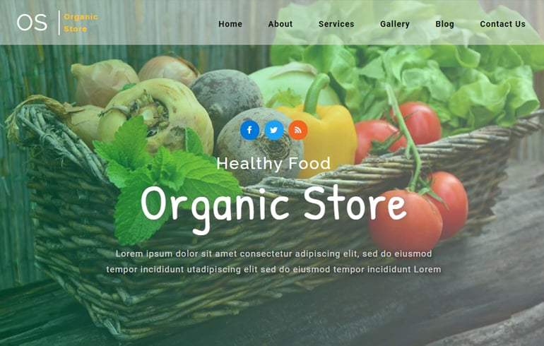 free HTML5 templates for farm website