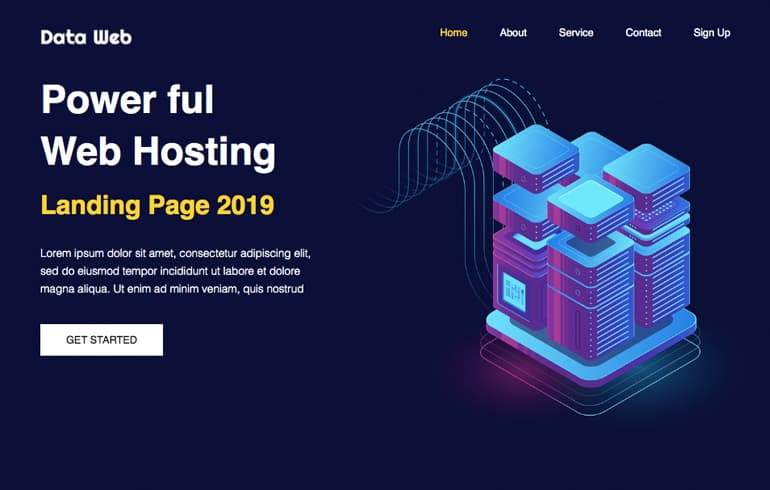 free HTML5 templates for Webhosting/domain