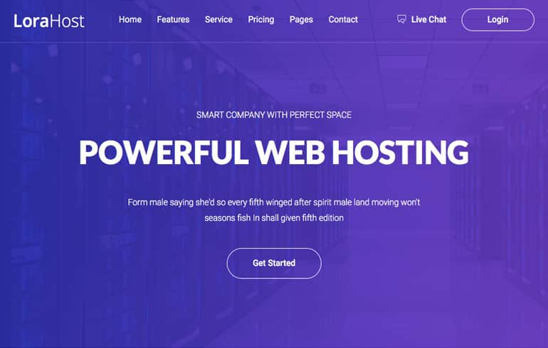 free HTML5 templates for Webhosting