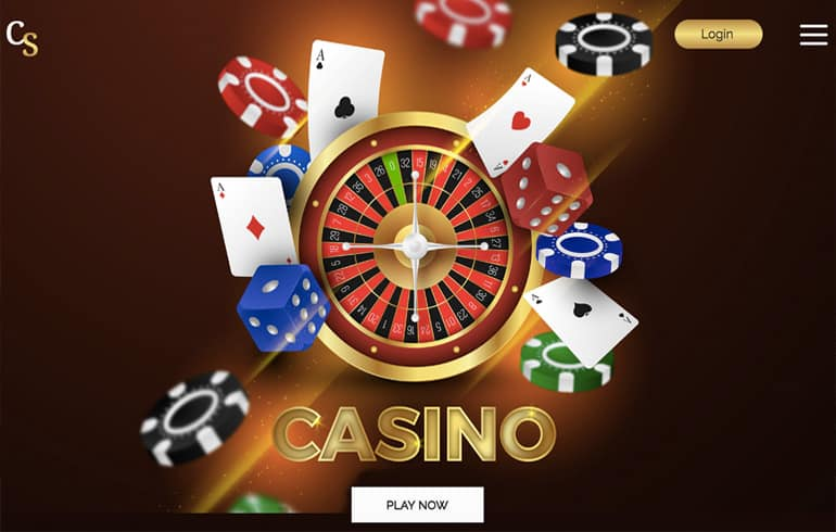 free Casino templates for gambling website