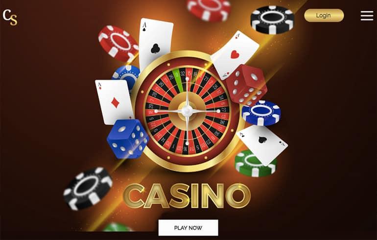 free Casino templates for gambling website