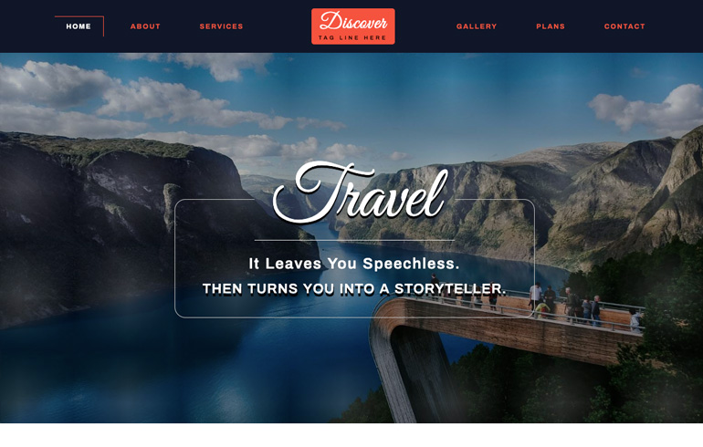 free travel agent template