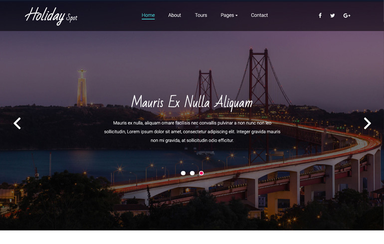 free travel template