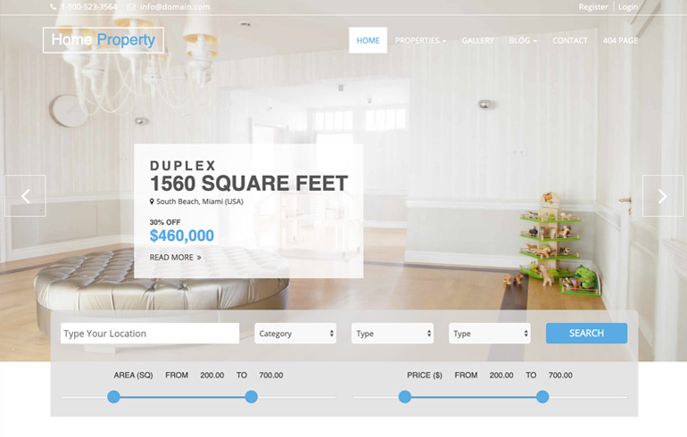 real estate investment : Real Estate - Free CSS Templates for 2020