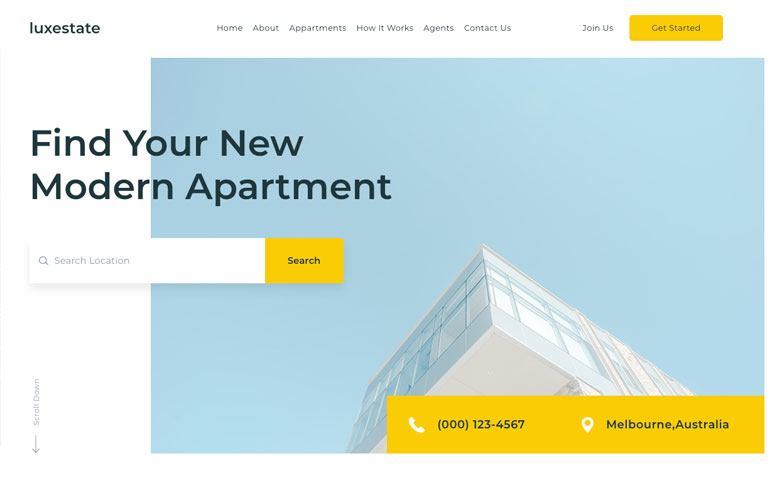 Lux : css for real estate investment
