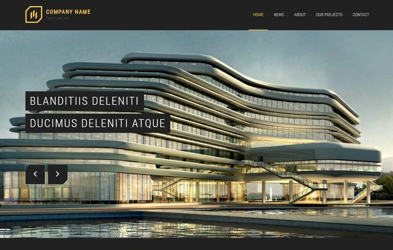 Modern Architect Template