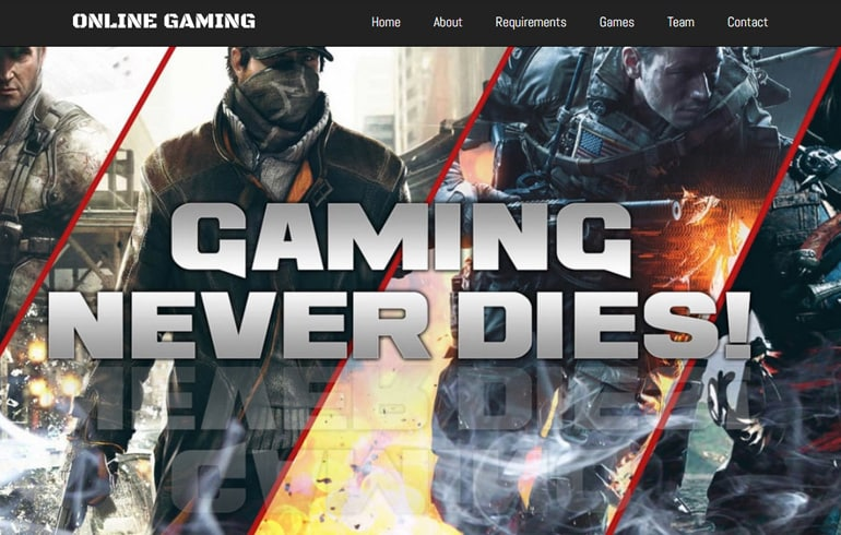 free online gaming site for gamers