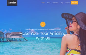 Free Website Parallax Templates