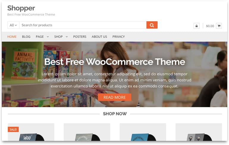 WP Online Shopping Templates