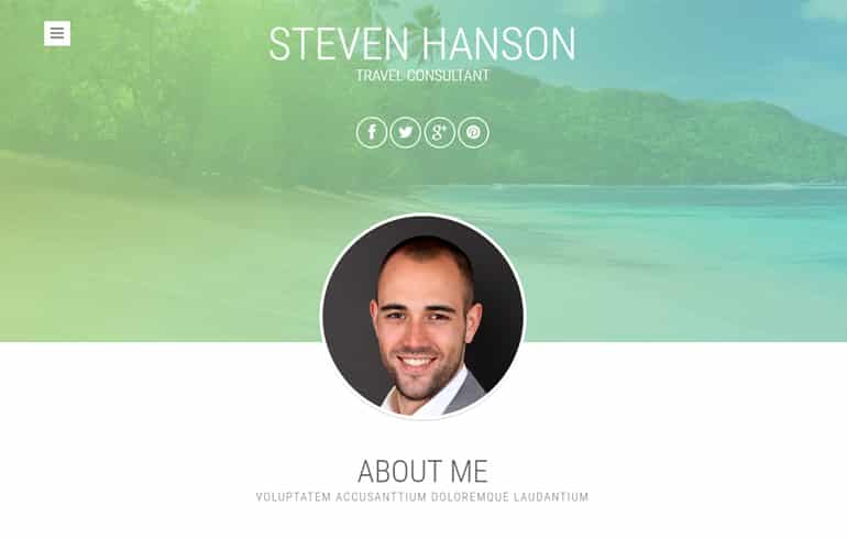 free travel Consultants template