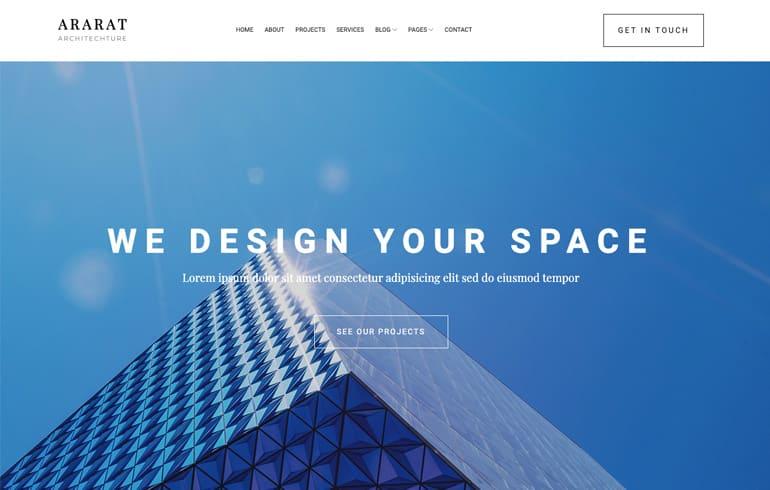 Modern Architect Minimal Template