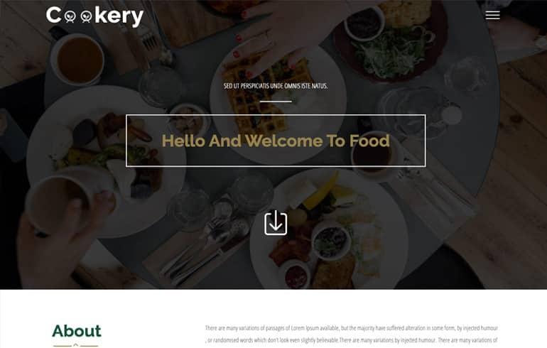 free live dinner design