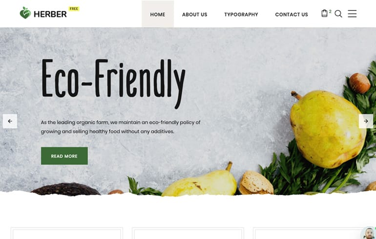 free online website template agriculture business website