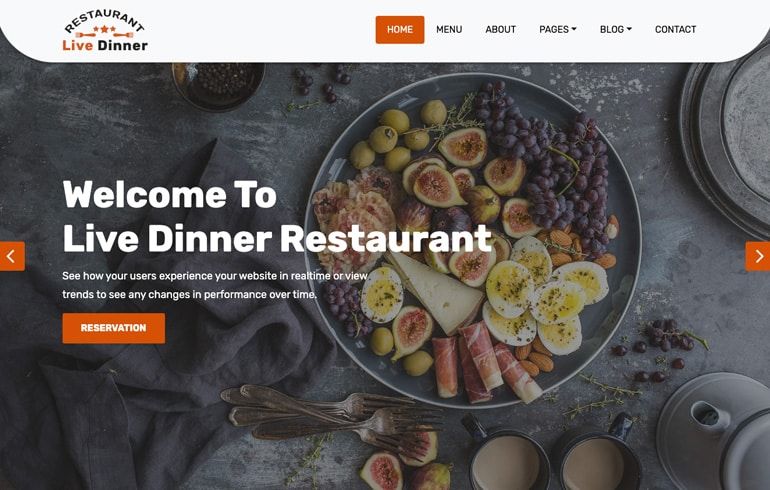 free Mobile Website Template