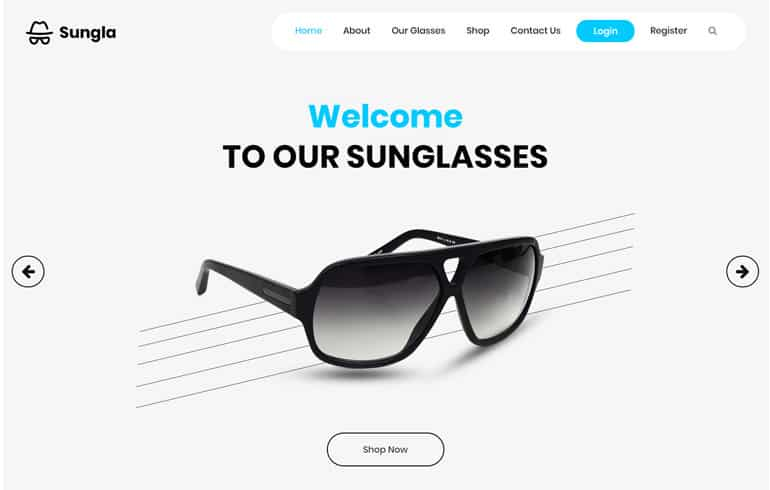 free css for fashion website template
