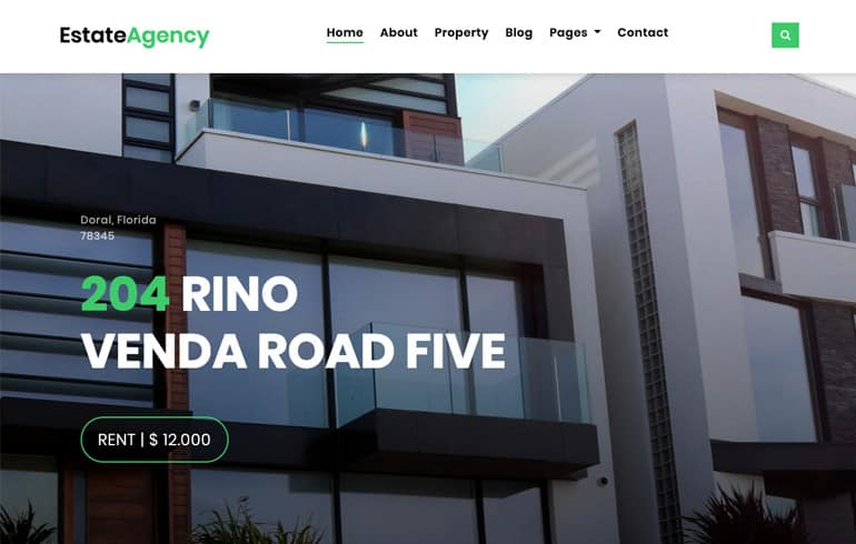 Free CSS Real Estate Templates