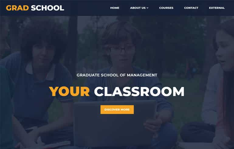 School University Template