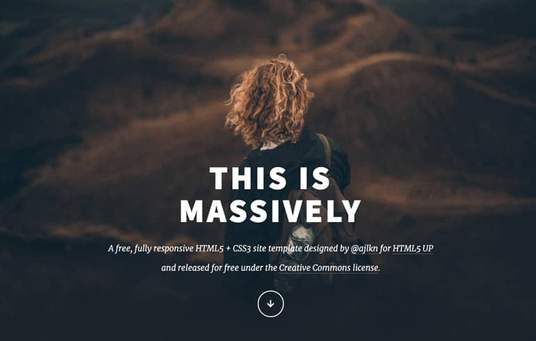 An Article-oriented HTML5 Template
