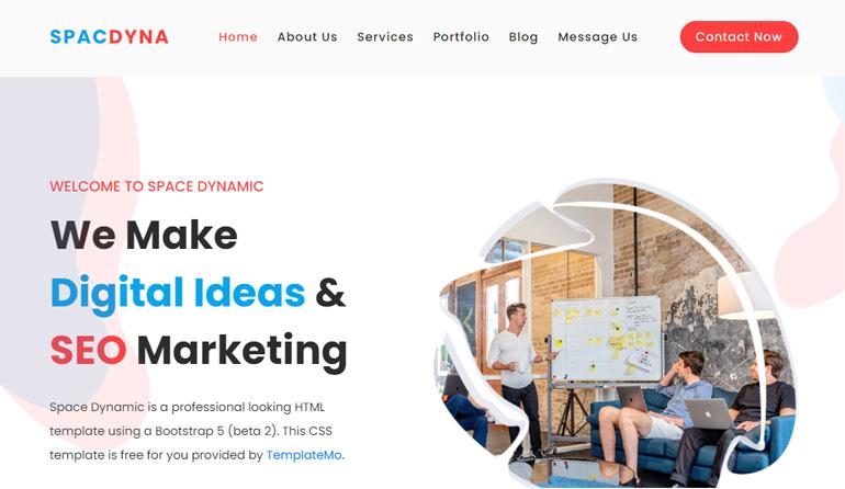 A Digital Marketing Space Dynamic