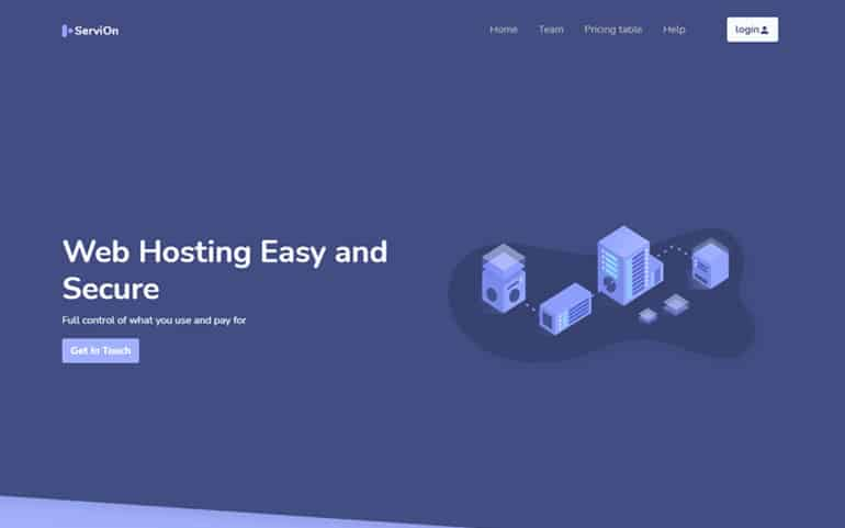 Servion - Free Bootstrap 5 HTML5 Business Website