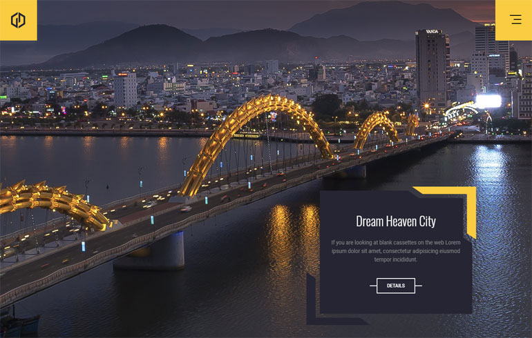 Free Architect Website Template
