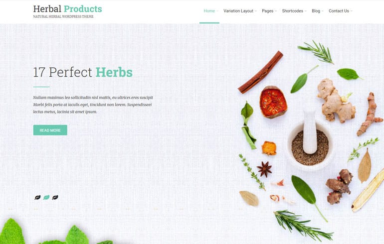 Herbal : A Farm HTML Template agriculture business website