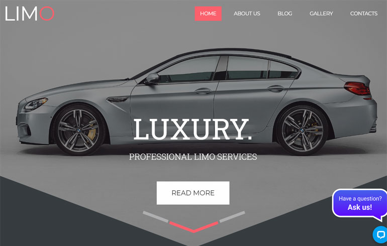 free css car template