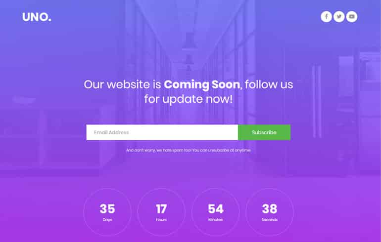 free css templates for landing page